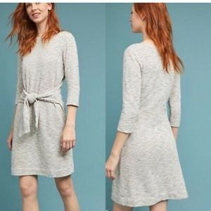 Anthropologie Becky Tie-Waist Dress T.la Medium M